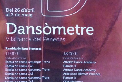 DIA INTERNACIONAL DE LA DANSA '19 (Vilafranca)